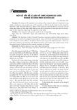 Một số vấn đề lý luận về chức năng bào chữa trong tố tụng hình sự Việt Nam