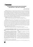 Thế chấp quyền tài sản phát sinh từ hợp đồng mua bán nhà ở - Pháp luật và thực tiễn