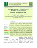 Compatibility of fungicides on sporulation and growth of Trichoderma viride with treated seeds