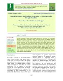 Genetic divergence study in rice (Oryza sativa L.) genotypes under drought condition