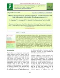 Influence of crop geometry and intercropping on growth characters and light interception in pearlmillet [Pennisetum glaucum (L.)]