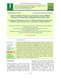 Spatial variability of soil pH, EC and organic carbon in different panchayats of sabour block of Bhagalpur district, Bihar, India