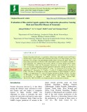 Evaluation of bio-control agents against Macrophomina phaseolina causing root and stem rot disease of sesamum