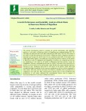 Growth performance and instability analysis of rabi maize in Banswara district of Rajasthan