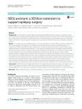 SEEG assistant: A 3DSlicer extension to support epilepsy surgery