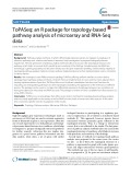 ToPASeq: An R package for topology-based pathway analysis of microarray and RNA-Seq data