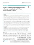 SPARTA: Simple program for automated reference-based bacterial RNA-seq transcriptome analysis