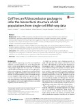 CellTree: An R/bioconductor package to infer the hierarchical structure of cell populations from single-cell RNA-seq data