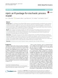 Stpm: An R package for stochastic process model