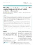 TRAPLINE: A standardized and automated pipeline for RNA sequencing data analysis, evaluation and annotation