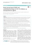 Novel group-based QSAR and combinatorial design of CK-1δ inhibitors as neuroprotective agents