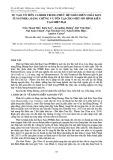 Sự tạo vỏ tiền cambri trong phức hệ nhân biến chất Kon Tum (PNBK): Bằng chứng và tồn tại cho một mô hình kiến tạo hiện đại