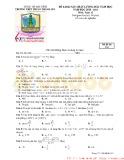 Đề khảo sát chất lượng đầu năm môn Toán lớp 12 năm học 2020-2021 – Trường THPT Thuận Thành số 1 (Mã đề 132)
