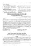 Nghiên cứu khả năng sinh trưởng, phát triển và năng suất của các giống ngô nếp lai tại Hà Nội