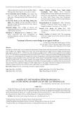 Nghiên cứu thử nghiệm chế phẩm sinh học P1 diệt tuyến trùng gây bệnh cây hồ tiêu tại tỉnh Đăk Lăk