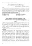 Ảnh hưởng phân NPK kết hợp với phân hữu cơ đến năng suất và phẩm chất thanh long ruột tím hồng LĐ5