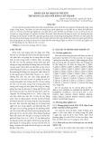 Đánh giá đa dạng di truyền tập đoàn lúa mùa nổi bằng chỉ thị SSR