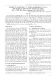 Nghiên cứu ảnh hưởng của thời vụ và biện pháp xử lý GA3 đến tỷ lệ xuất vườn và sinh trưởng cây giống bảy lá một hoa (paris vietnamensis) tại Sapa, Lào Cai
