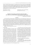 Nghiên cứu đa dạng di truyền nguồn gen mướp thu thập ở các tỉnh miền Bắc Việt Nam bằng chỉ thị SSR