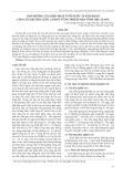 Ảnh hưởng của biện pháp tưới nước và bón phân cho cây đậu bắp luân canh ở vùng nhiễm mặn tỉnh Hậu Giang