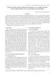 Kết quả đánh giá đặc điểm nông sinh học của 6 dòng ngô nếp và giá trị ưu thế lai của các tổ hợp lai luân phiên
