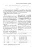 Nghiên cứu khả năng sinh trưởng, phát triển và năng suất của các giống ngô lai nhập nội tại Hà Nội