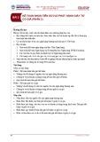 Bài giảng Kế toán ngân hàng thương mại - Bài 2: Kế toán nhận tiền gửi và phát hành giấy tờ có giá (Phần 2)