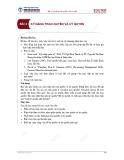 Bài giảng Kỹ năng quản trị - Bài 4: Kỹ năng trao quyền và ủy quyền
