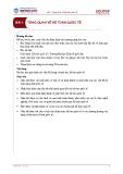 Bài giảng Kế toán quốc tế - Bài 1: Tổng quan về kế toán quốc tế