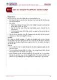Bài giảng Kế toán quản trị 2 – Bài 7: Định giá bán sản phẩm trong doanh nghiệp