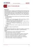 Bài giảng Quản trị tài chính - Bài 8: Quản lý tài sản ngắn hạn