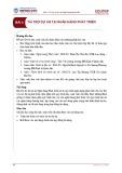 Bài giảng Ngân hàng phát triển - Bài 4: Tài trợ dự án tại ngân hàng phát triển