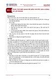 Bài giảng Kế toán quản trị 1 - Bài 4: Phân tích mối quan hệ giữa chi phí, sản lượng và lợi nhuận