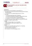 Bài giảng Kế toán ngân hàng thương mại - Bài 4: Kế toán nghiệp vụ cho vay của ngân hàng thương mại