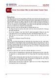 Bài giảng Phân tích tài chính - Bài 6: Phân tích dòng tiền và khả năng thanh toán