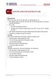 Bài giảng Quản trị kinh doanh 2 - Bài 1: Quản trị cung ứng nguyên vật liệu