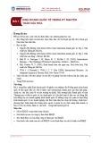 Bài giảng Kinh doanh quốc tế - Bài 1: Kinh doanh quốc tế trong kỷ nguyên toàn cầu hóa