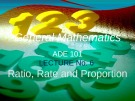 Lecture General mathematics: Lecture 6 - Ms. Fehmida Haroon