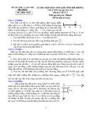 Đề thi chọn học sinh giỏi cấp tỉnh môn Vật lý lớp 12 năm học 2012-2013 – Sở Giáo dục và Đào tạo Hải Dương (Đề chính thức)