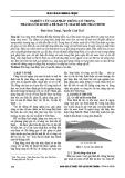 Nghiên cứu giải pháp trồng cỏ trong thảm lưới xơ dừa để bảo vệ mái đê khi tràn đỉnh