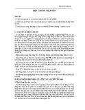 Bài giảng Nội cơ sở 2 - Bài 11: Điện tâm đồ nhập môn