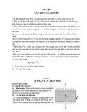 Bài giảng Vật liệu điện - Chương 5: Sự phân cực của điện môi