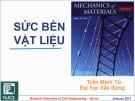 Bài giảng Sức bền vật liệu 1: Chương 4 - PGS. TS. Trần Minh Tú
