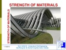 Lecture Strength of Materials I: Chapter 1 - PhD. Tran Minh Tu