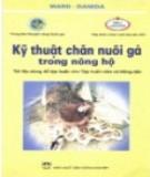 Cẩm nang kỹ thuật chăn nuôi gà trong nông hộ: Phần 1
