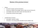 Lecture Macroeconomics: Lecture 11 - Prof. Dr.Qaisar Abbas