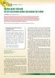 Những bước tiến mới về cải cách hành chính của ngành tài chính