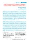 Nghiên cứu xây dựng tiêu chí đánh giá sự phù hợp của các dự án thủy điện với môi trường và áp dụng với các thủy điện trên dòng chính sông Mã tỉnh Thanh Hóa