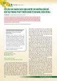 Cơ cấu chi ngân sách nhà nước và những vấn đề đặt ra trong phát triển kinh tế nhanh, bền vững