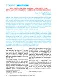 Thực trạng cấp nước sinh hoạt nông thôn vùng đồng bằng sông Cửu Long và đề xuất giải pháp khai thác